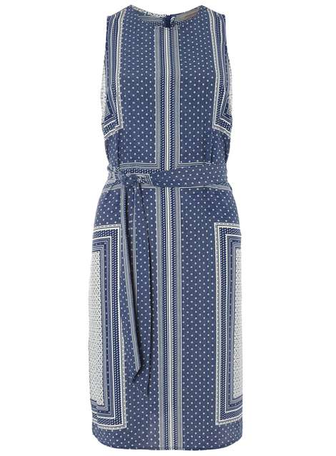 Petite Scarf Print Midi Dress Price: £30.00 Click to visit Dorothy Perkins