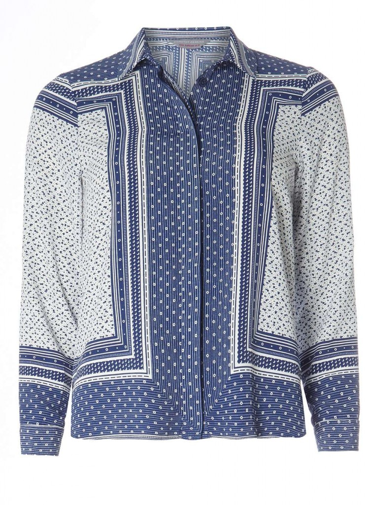 Petite Scarf Print Shirt Price: £28.00 Click to visit Dorothy Perkins