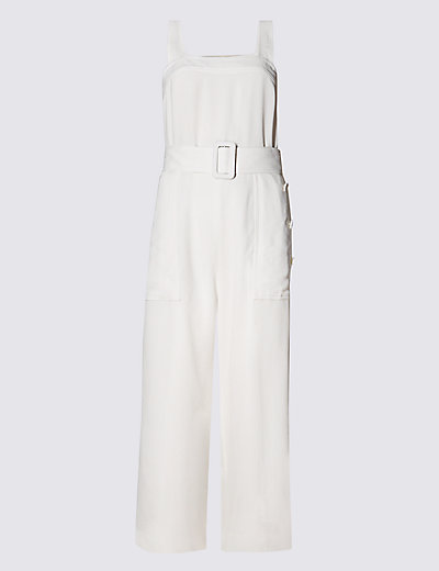 Square Neck Belted Jumpsuit T423212R £149.00 Click to visit M&S