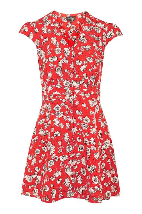 PETITE Daisy Dress £42.00 Click to visit Topshop