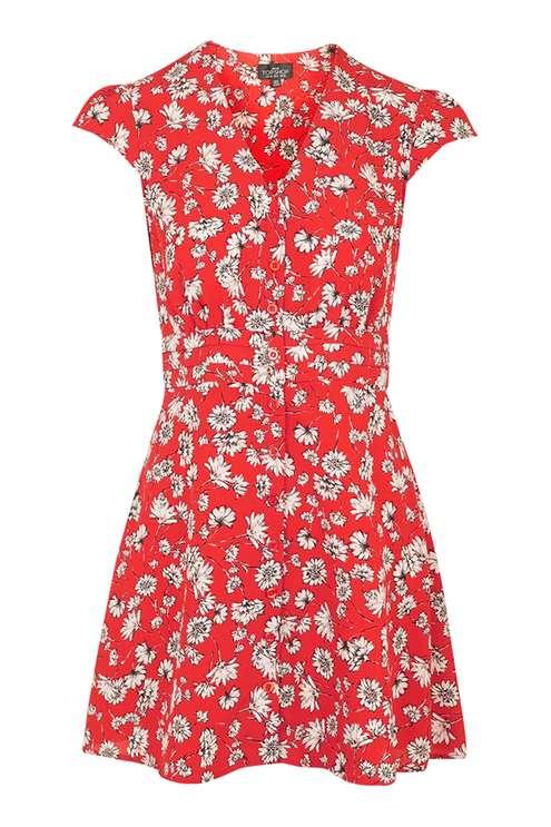 PETITE Daisy Dress £42.00 Click to visit Topshop