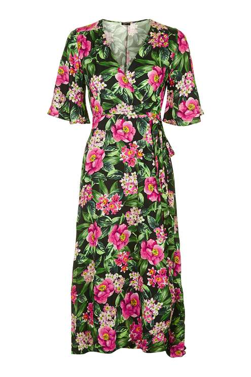 **Hawaii Floral Wrap Dress by Nobody's Child £28.00 Click to visit Topshop