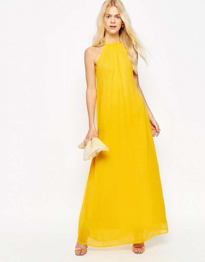 ASOS High Neck Swing Maxi Dress £45.00 Click to visit Asos