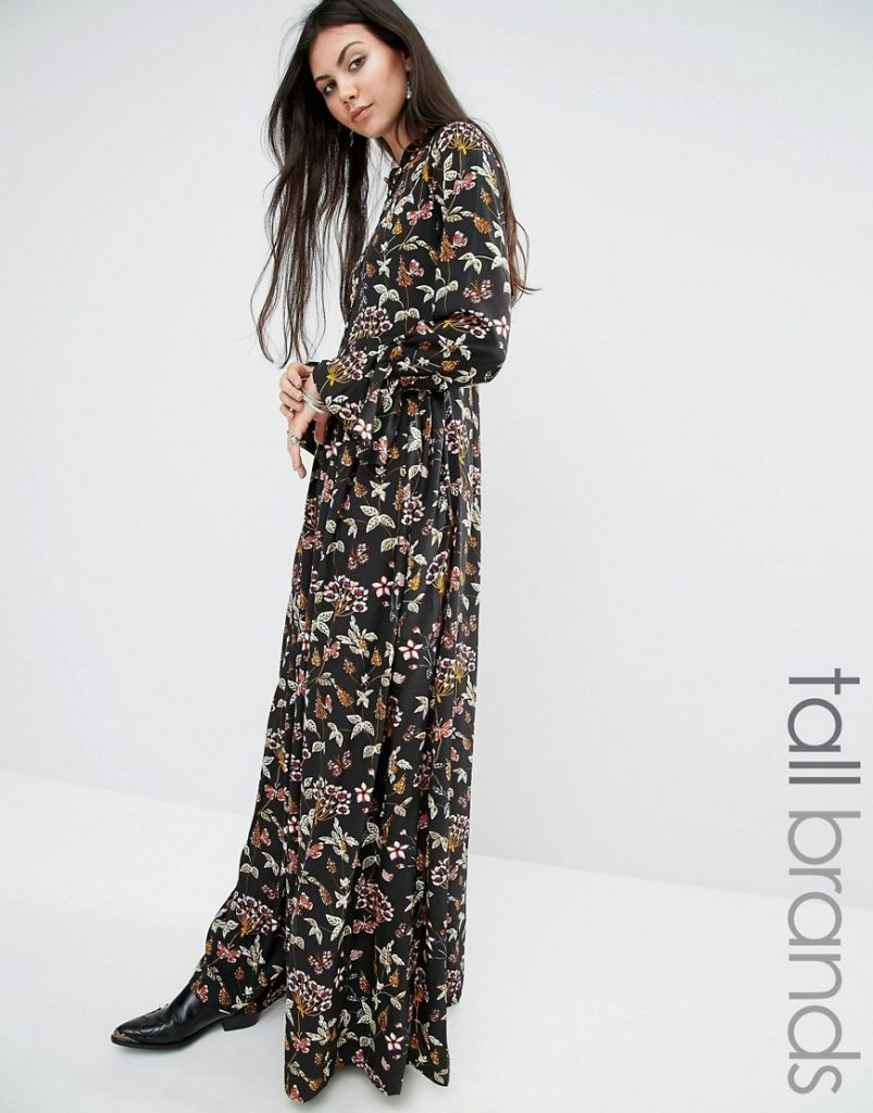 Glamorous Tall Floral Print Button Up Maxi Dress £45.00 Click to visit ASOS