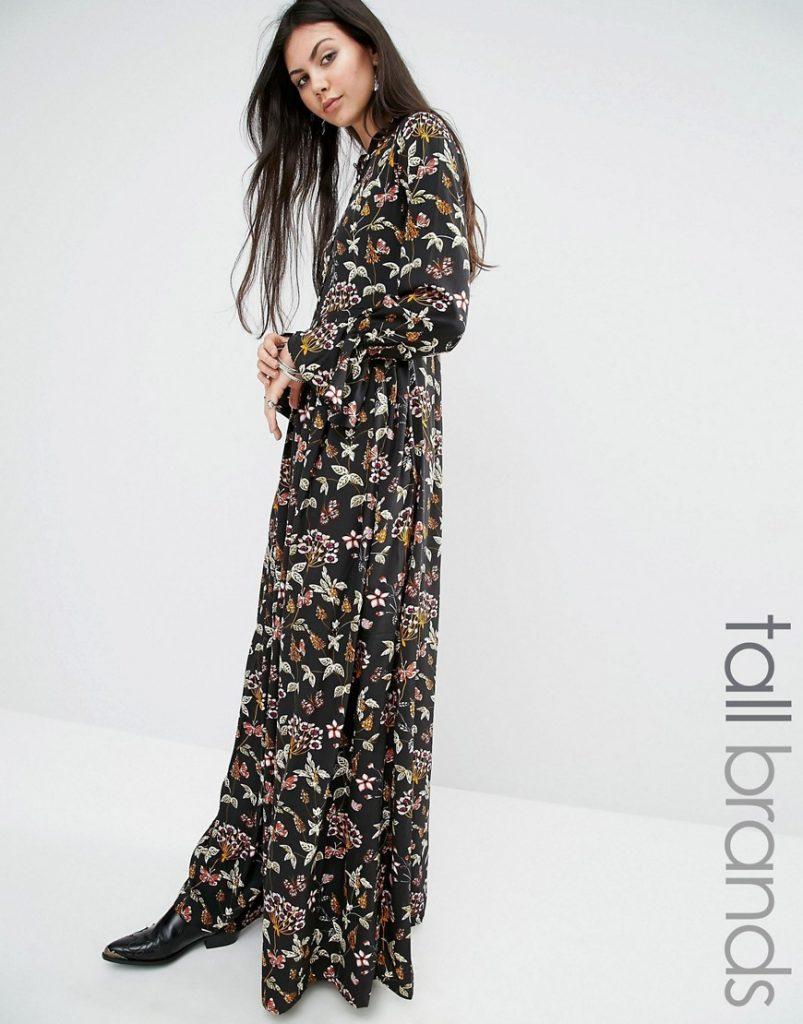 Glamorous Tall Floral Print Button Up Maxi Dress £45.00 Click to visit ASOS