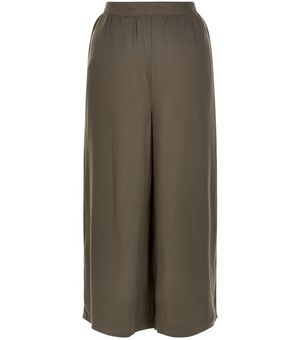 Khaki Elasticated Back Culottes £9.99 Click to visit New Look