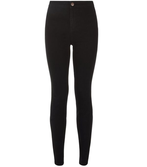 Black Supersoft Super Skinny Jeans £19.99 Click to visit New Look