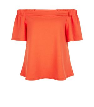 Tall Orange Crepe Bardot Neck Top £9.00 Click to visit New Look