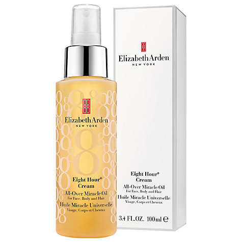 Elizabeth Arden Eight Hour Miracle Oil, 100ml £29 Click to visit John Lewis