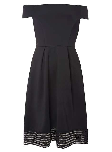 Bardot midi dress Price: £35.00 Click to visit Dorothy Perkins