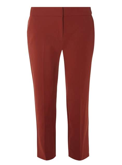 Conker Side Tab Ankle Grazer Trousers Was £18.00 Now £14.40 Click to visit Dorothy Perkins