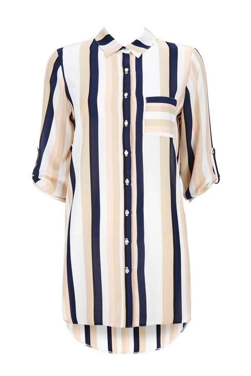 Blush Stripe Shirt Was £35.00 Now £28.00Click to visit Wallis