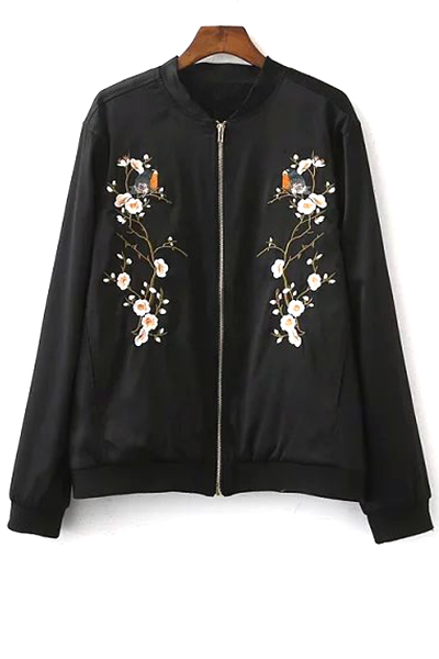 Embroidered Baseball Jacket (SALE) £19.83 Click to visit Zaful