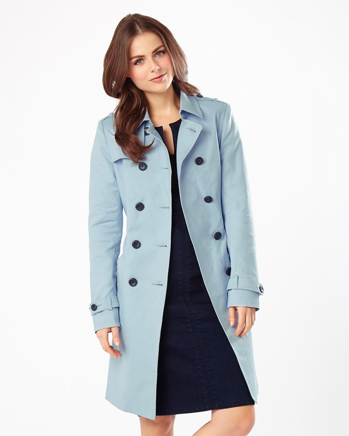 Tabatha Trench Coat £125.00 Click to visit Phase Eight