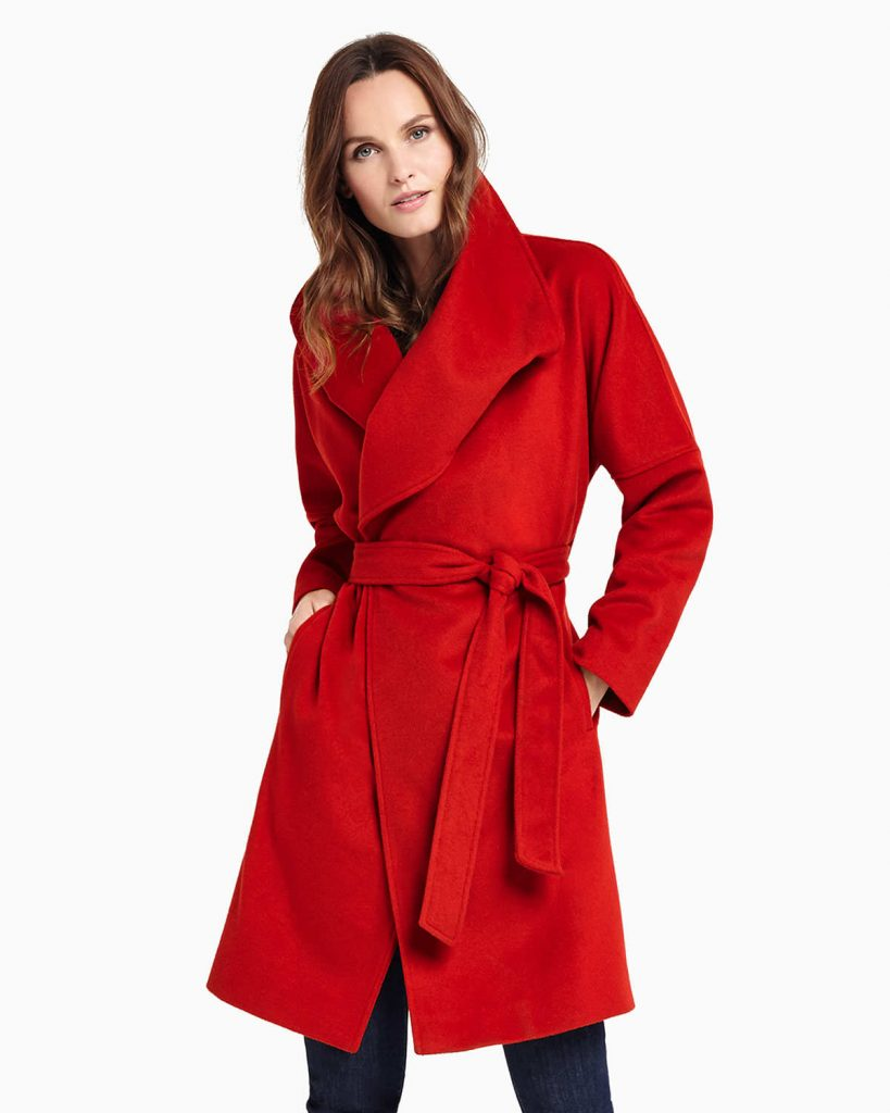 Bruna Belted Coat £199 Click to visit Phase Eight
