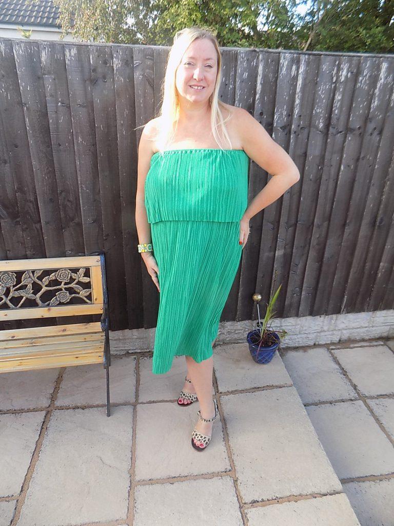 Simply Be Plise Ruffle Midi Dress Reviewed | fashionmommy\'s Blog