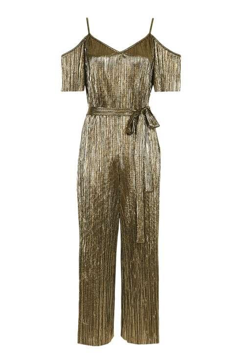 PETITE Belted Plisse Jumpsuit £39.00 Click to visit Topshop