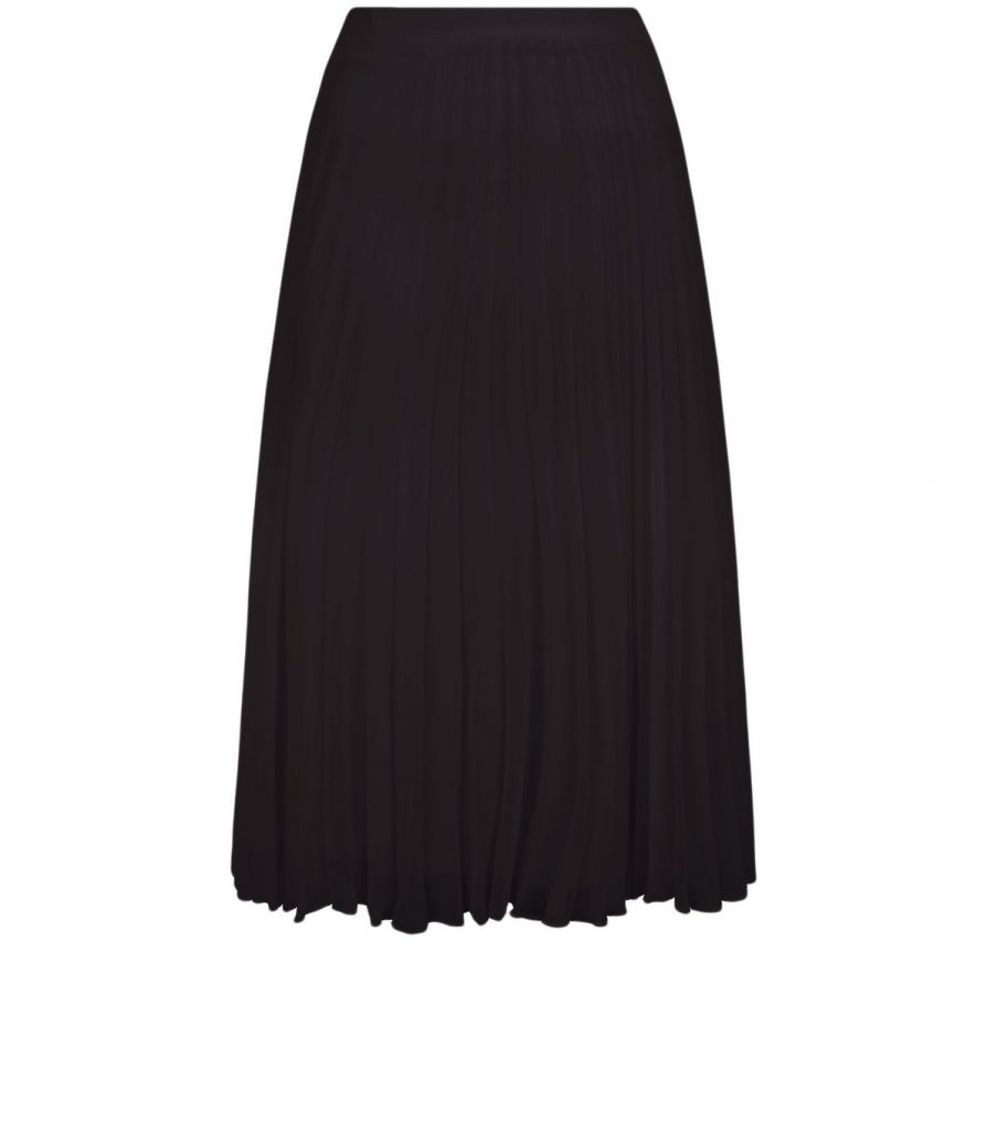Black Chiffon Pleated Midi Skirt £24.99 Click to visit New Look