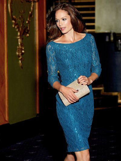 Bardot glitter lace dress £55.00 Click to visit M&Co