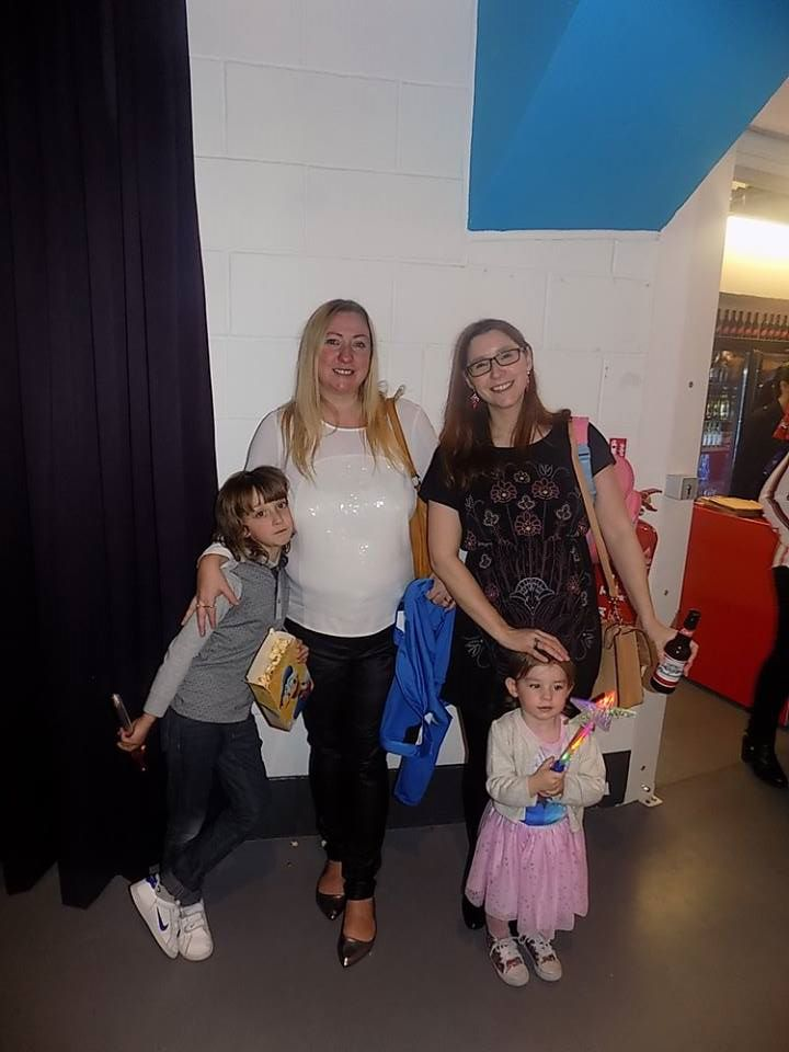 At Disney on Ice
