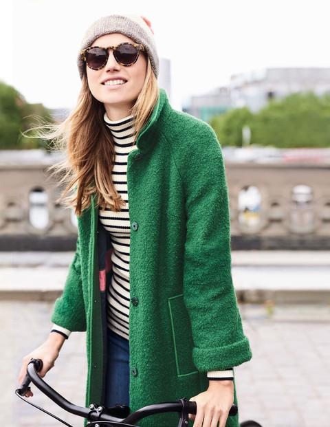 Bridget Bouclé Coat £179 Click to visit Boden