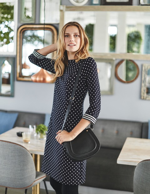 Dotty Shift Dress Was £79.50 Now £63.60 Click to visit Boden