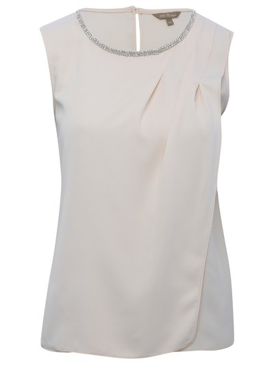 Embellished pleat layered top Details http://www.mandco.com/embellished-pleat-layered-top-champagne/1701967.html Product Number: 1701967 Colour: CHAMPAGNE Boutique Collection £39.00 Click to visit M&Co
