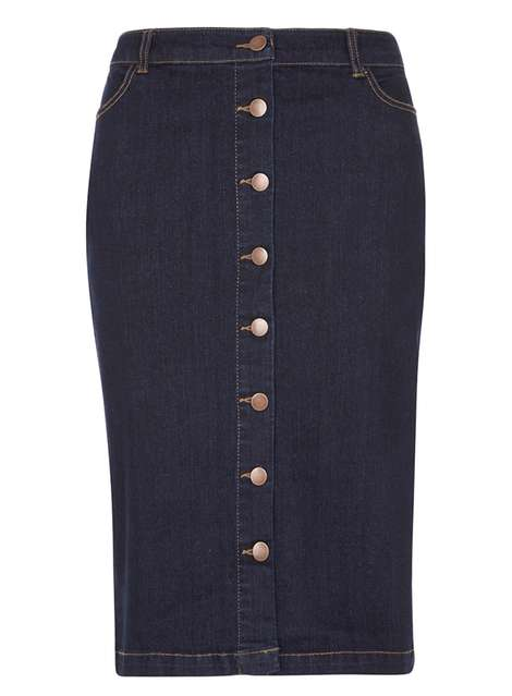 **Tall Denim Pencil Skirt Was £24.00 Now £11.90Click to visit Dorothy Perkins