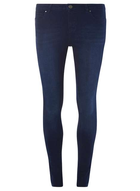 New Blue Bailey Ultra Stretch Skinny Jeans Price: £22.00 Click to visit Dorothy Perkins