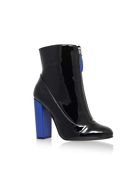 Carvela Stephan zip up ankle boots £89 Click to visit House of Fraser