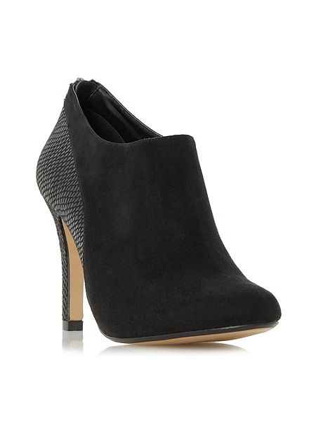Head Over Heels Opera mixed material heeled ankle boots £53 Click to visit House of Fraser