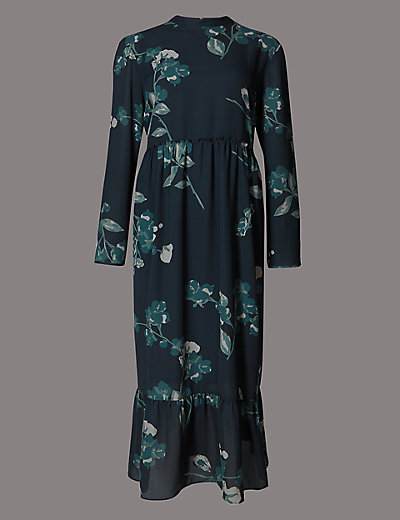 AUTOGRAPH New Floral Print Midi Dress £65 Click to visit M&S