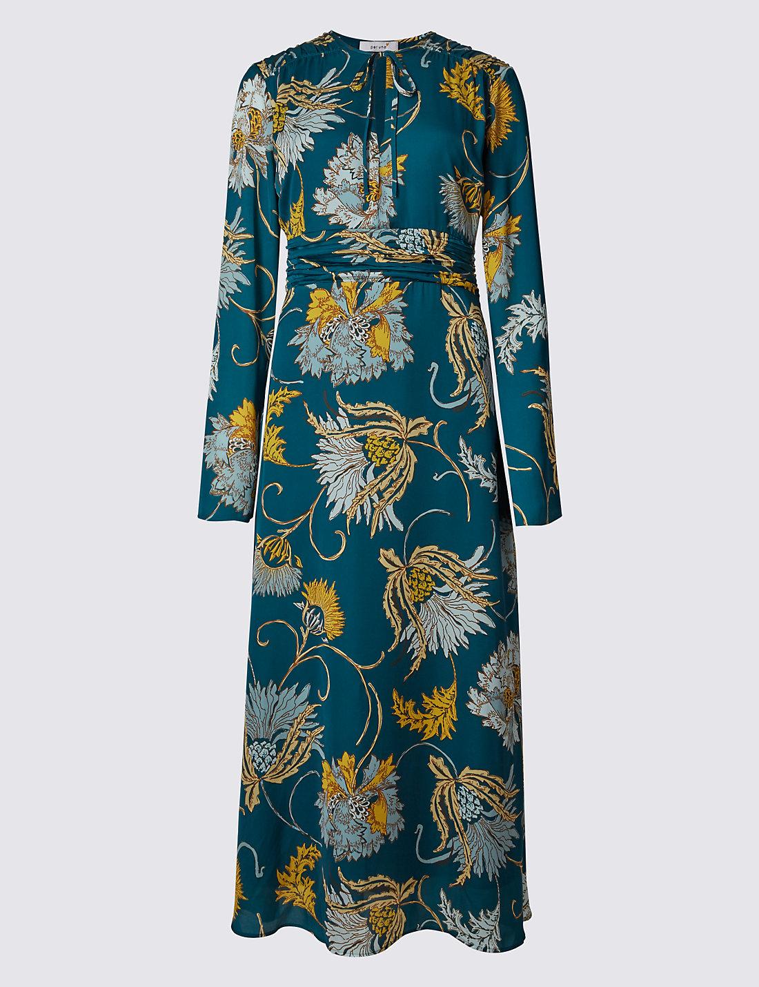 PER UNA New Fit & Flare Thistle Dress £55 Click to visit M&S