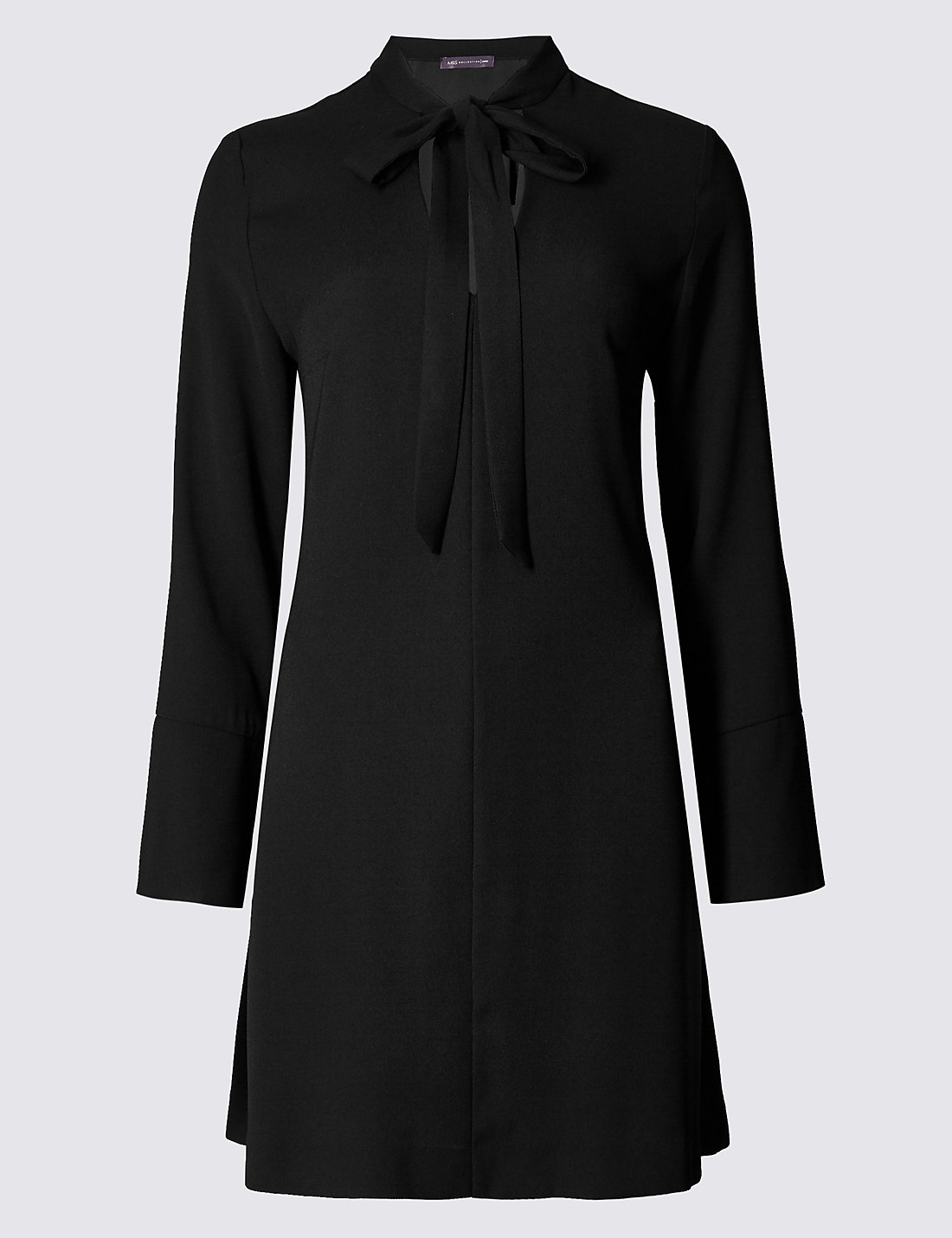 M&S COLLECTION New Long Sleeve Notch Neck Tunic Dress £29.50 Click to visit M&S
