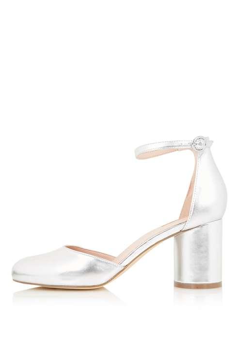 JAGGA Round Heel Shoes £46.00 Click to visit Topshop