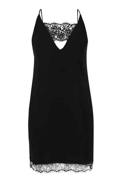 Lace Trim Slip Dress £32.00 Click to visit Topshop