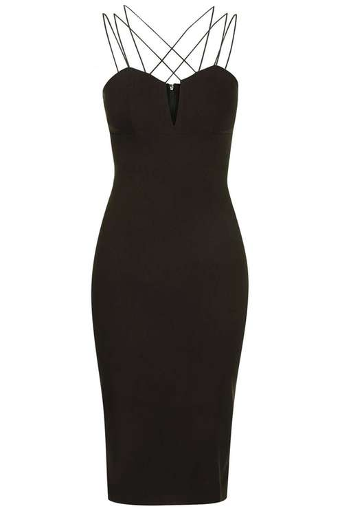 **Multi Cross-Strap Midi Dress by Rare £39.00 Click to visit Topshop