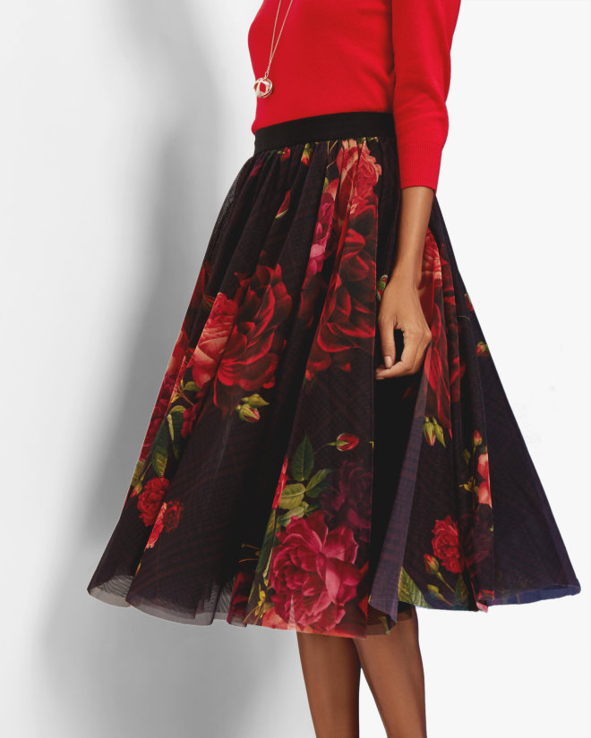 ONDRA Juxtapose Rose tutu skirt £199 Click to visit Ted Baker