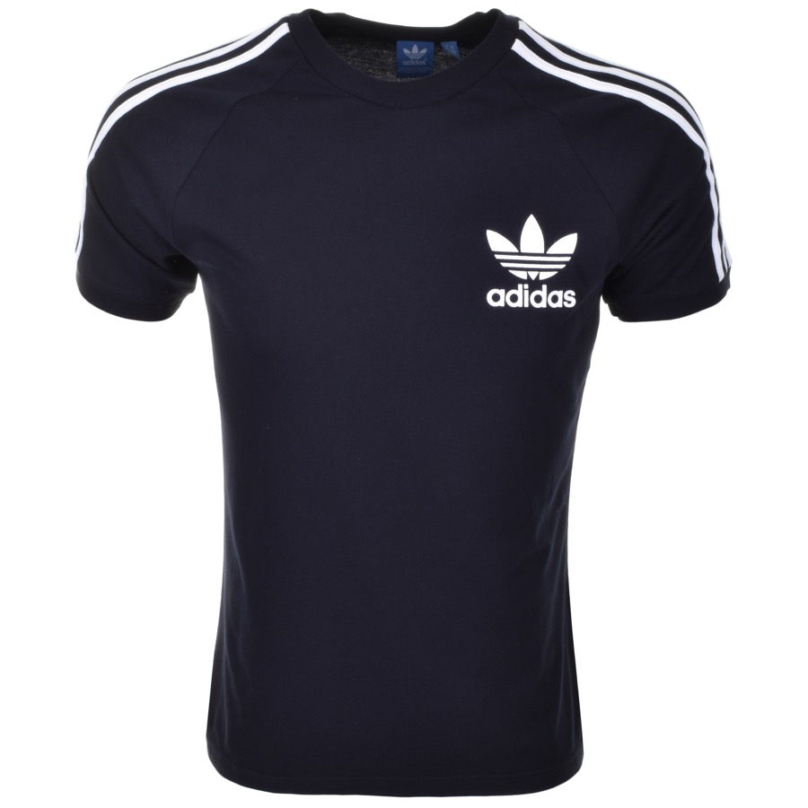 Adidas Originals California T Shirt Navy £23 Click to visit Mainline