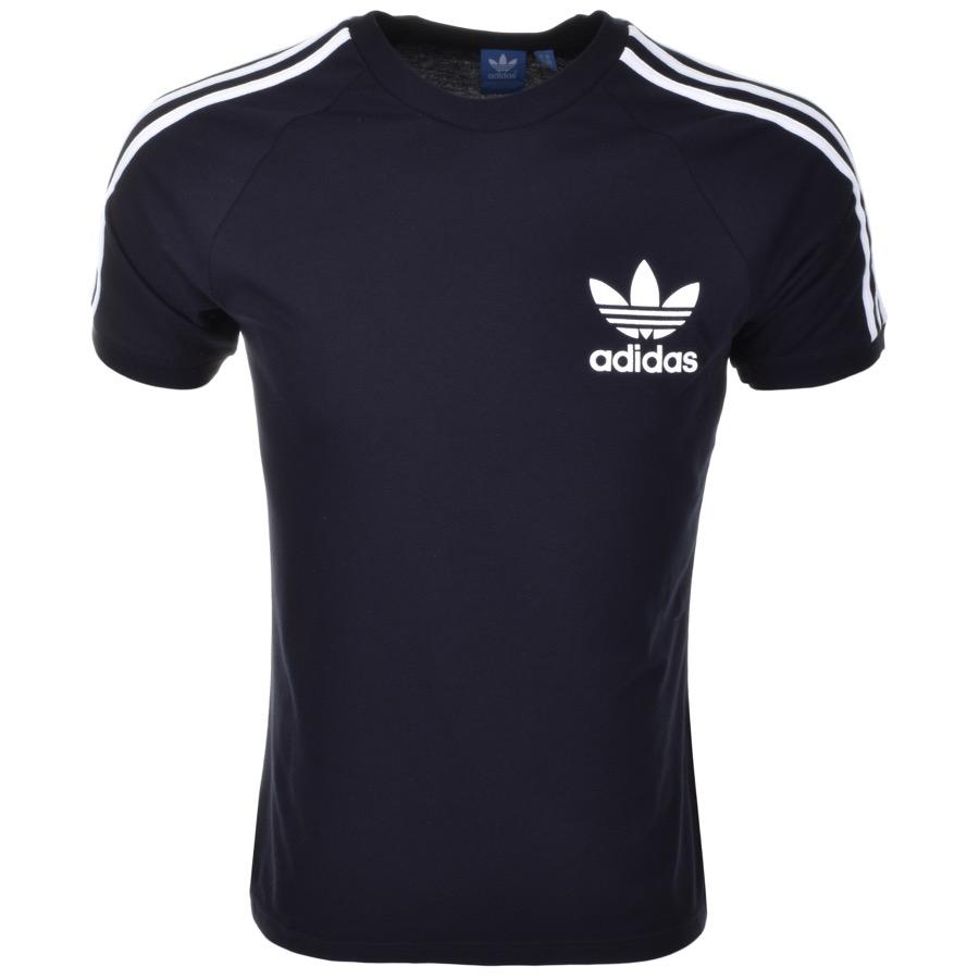 Adidas Originals California T Shirt Navy £23 Click to visit Mainline