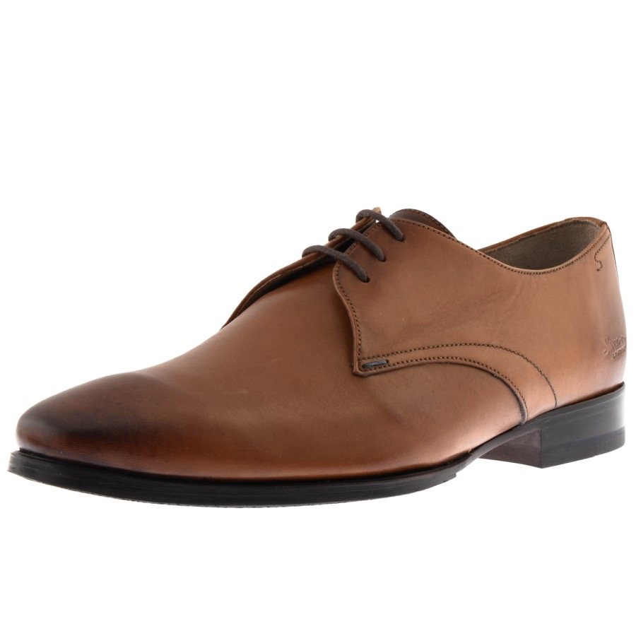 Sweeney London Tuckley Shoes Brown £129 Click to visit Mainline