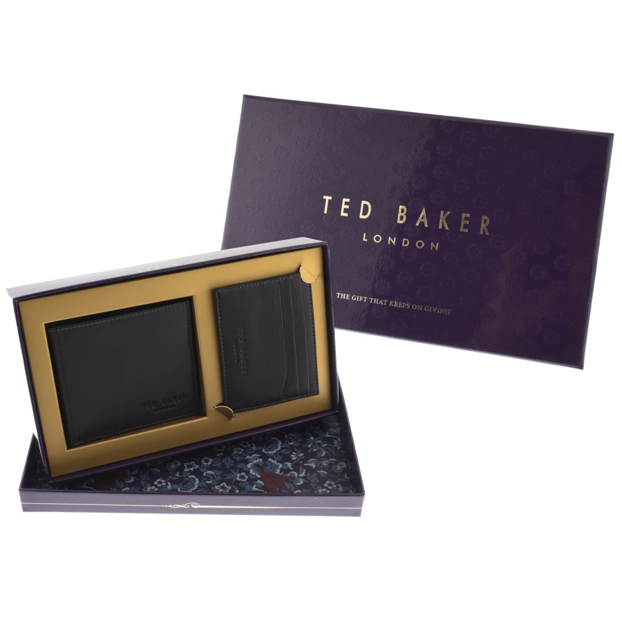 Ted Baker Giftwo Leather Wallet Set Black £60 Click to visit Mainline