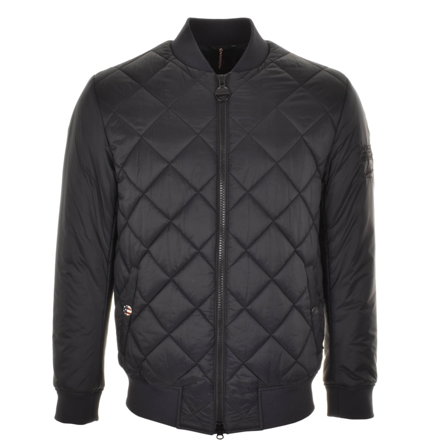 Barbour International Quilted Jacket Black £169 Click to visit Mainline