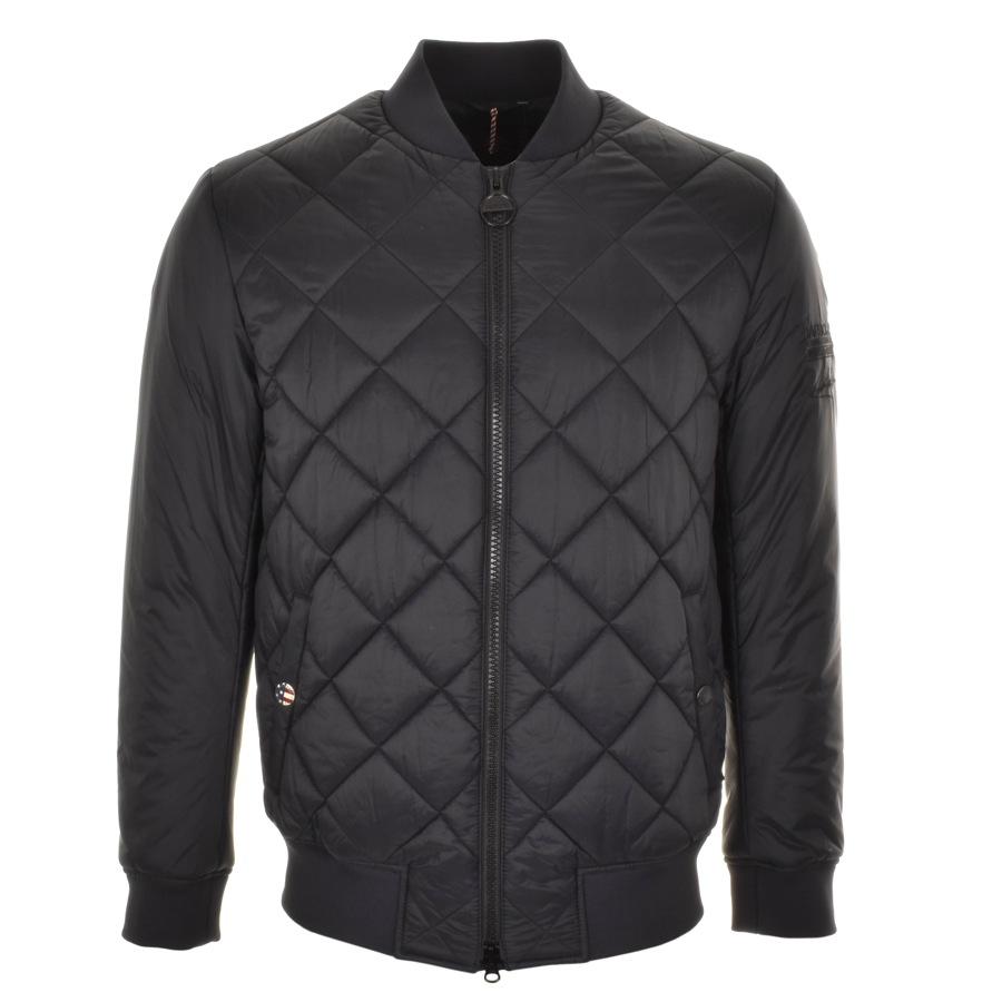 Barbour International Quilted Jacket Black £169 Click to visit Mainline