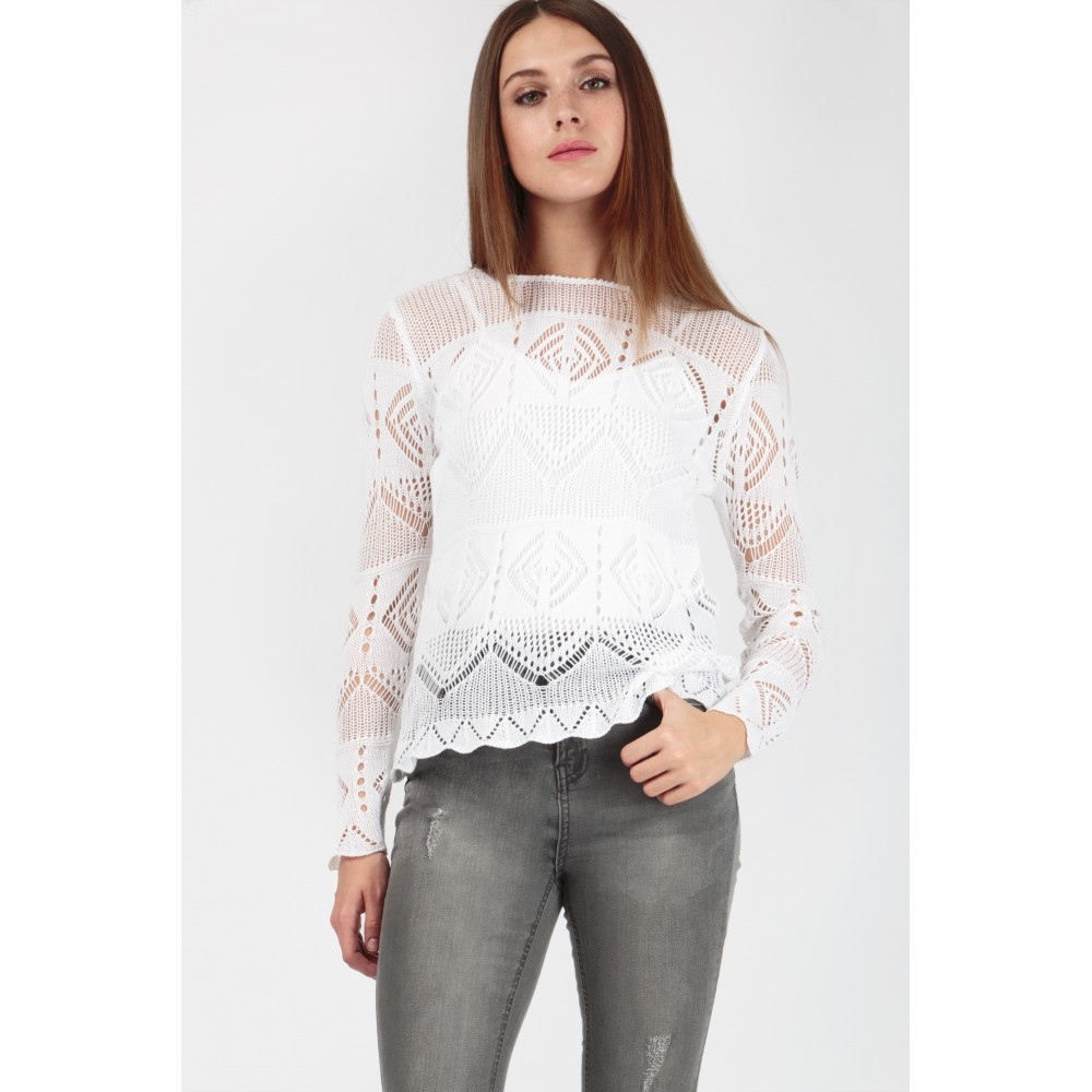 POINTELLE LONG SLEEVE JUMPER was £15.99 now £6.99 Click to visit Select