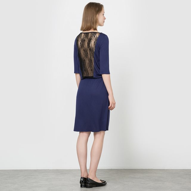 R édition Lace-Back Dress £29 £17.40 with 40% off Click to visit La Redoute