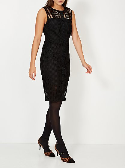 Lace Overlay Dress £20 Click to visit George at Asda