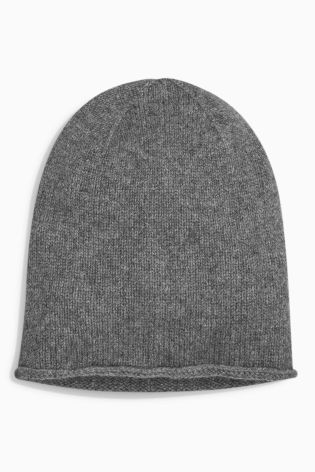 Charcoal Cashmere Beanie £22 Click to visit Next