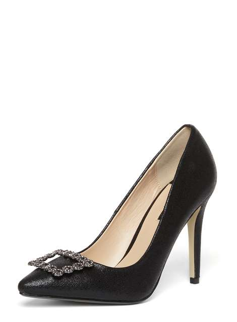 Black 'Bethany' Court shoes Was £32.00 Now £22.40 Click to visit Dorothy Perkins
