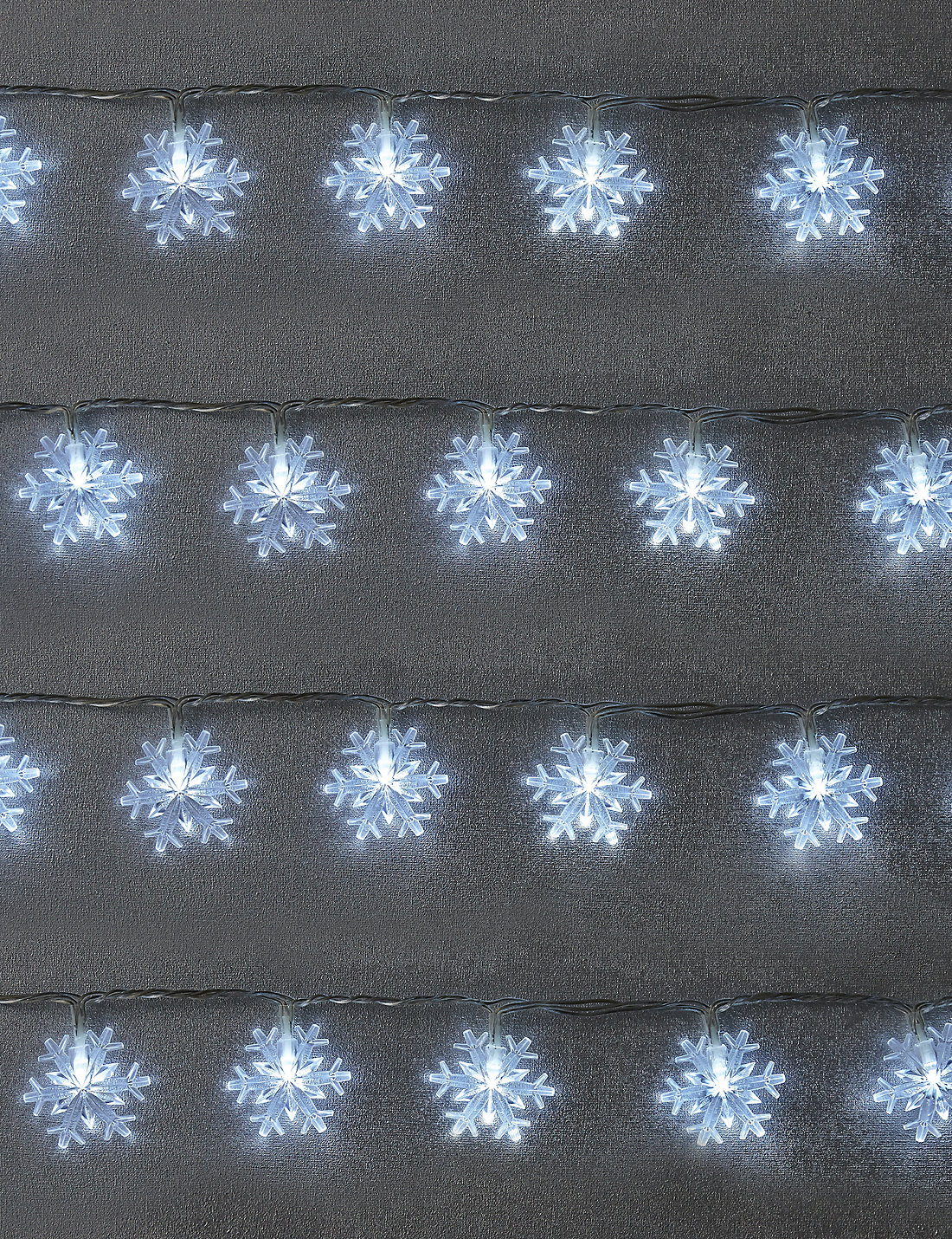 80 Snowflake Outdoor Lights £35 Click to visit M&S